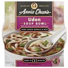 Annie Chun's Udon Soup Bowl 5.9 oz