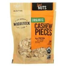 Woodstock Organic Unsalted Cashew Pieces 7 oz