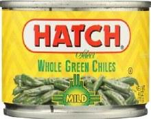 Hatch Whole Green Mild Chiles 4 oz