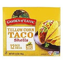 Garden of Eatin' Taco Shells Yellow Org 5.5oz