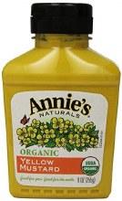 Annie's yellow mustard organic 9oz