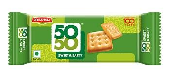 Britannia Fifty-Fifty Sweet & Salt 1.76 oz