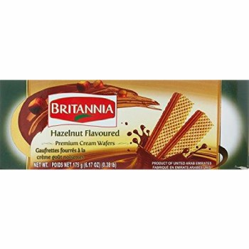 Britannia Hazelnut Wafers 80 G