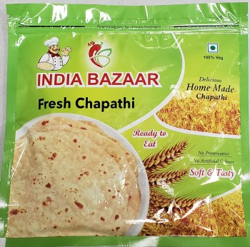 Fresh Chapathi 10 pc