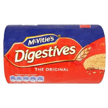 McVities Digestives 250gm
