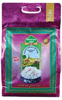 Mehran Super Long Basmati Rice 10 Lb