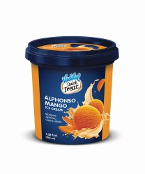 Vadilal Alphanso Mango Ice Cream 100ml