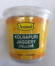 Anand Kolhapuri Jaggery Yellow 1lb