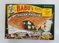 Babu's Palak Paneer 8oz