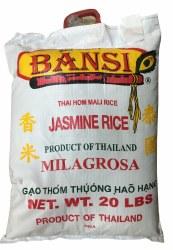 Bansi Jasmine Rice 20lb