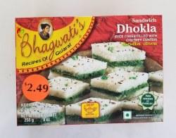 Bhagwatis Sandwich Dhokla