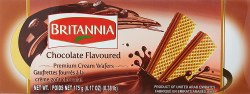 Britannia Chocolate Wafer 6.17o