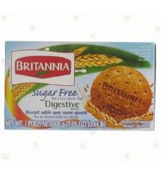 Britannia Digestive Sugar Free 7oz