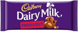 Cadbury Dairy Milk Fruit  110g