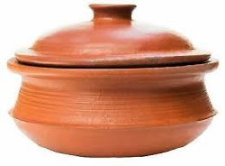 Clay Cooking Pot 12' with Lid