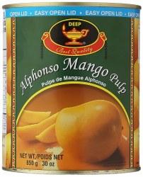 Deep Alphonso Mango Pulp 30oz