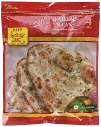Deep Garlic Naan val 12pc