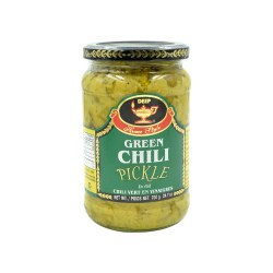 Deep Green Chilli  Pickle 24oz