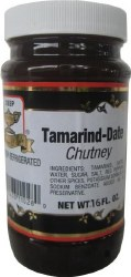 Deep Tamarind Date Chutney 16o