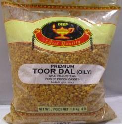 Deep Toor Dal Oily 4lb