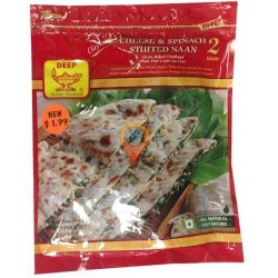Deep Cheese Spinach Parata 2pc