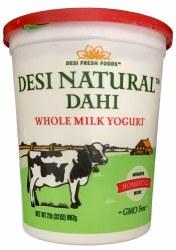 Desi Whole Dahi  / Yogurt 2 lb