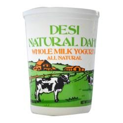 Desi Whole Dahi 5 Lb
