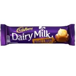 Dairy Milk Whole Nut 49g