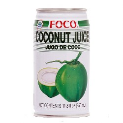 Foco Coconut Juice 11.8oz