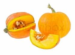 Fresh  Yellow Pumpkin 1 Pc