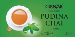 Girnar Pudina Chai 37gm 25 pcs