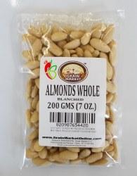 Grain Market Whole Almond Blanched 7oz