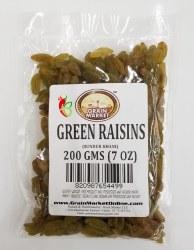 Grain Market Green Raisins 7oz