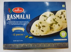 Haldirams Rasmalai 12pc 1kg