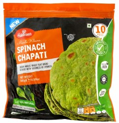 Haldiram Spinach Chapathi 10pc
