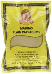 Laxmi Madras Pappadums 7oz