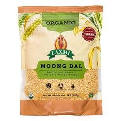 Laxmi Organic Moong dal 2lb