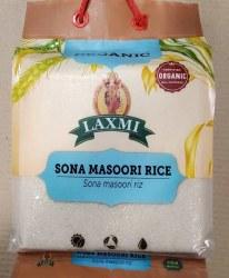 Laxmi Organic Sona Masoori Rice 10lb