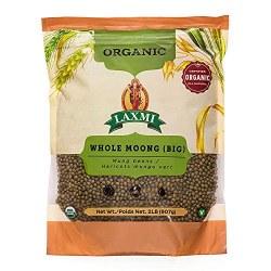 Laxmi Organic Moong Whole 2lb