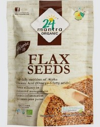 24 Mantra Organic Flax Seeds 7 oz