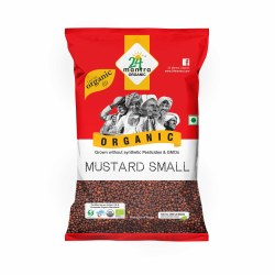 24 Mantra Organic Mustard Seeds 7oz