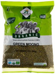 Mantra Organic Moong Whole 2lb