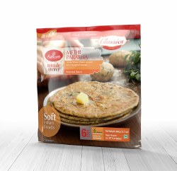 Haldirams Methi Paratha 6pc