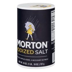 Morton IodizedSalt 26oz