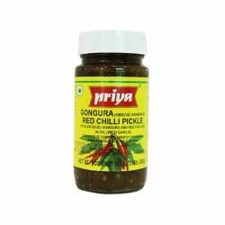Priya Gongura Red Chili Pickle