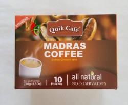 Quik Tea Madras Coffee 8.5Oz