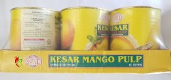 Swad Kesar Mango Pulp 30oz 1 Case (6pc)