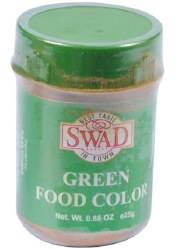 Swad Green Food Color 25g