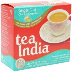 Tea India Ginger Chai 72 Bags