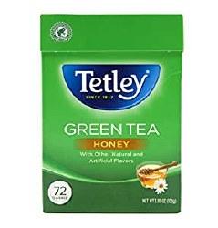 Tetley Tea Bags Honey 72 Bags